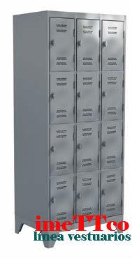 Locker 12 puertas