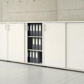 Módulo Triple Puertas Corredizas para almacenamiento