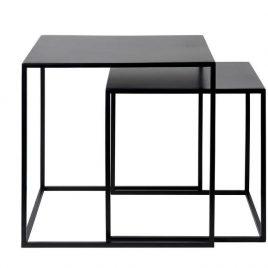 Set de mesas auxiliares GARDINE / Metal top